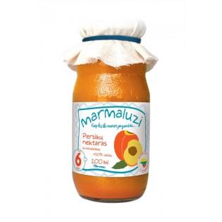 Peach nectar. Fruit content...