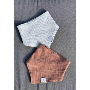 Simo baby scarf made of muslin